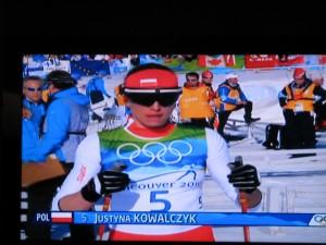 17.02 srebrny medal olimpijski dla  Justyny Kowalczyk