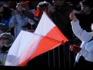 17.02 wierni polscy kibice w Vancouver podczas IO