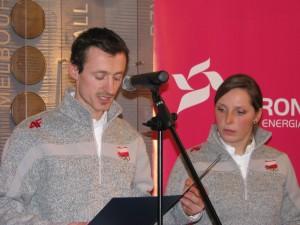 7.02.2010 ślubowanie Adam Małysz i Agnieszka Gąsienica -Daniel