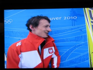 Adam Małysz srebrny medal IO Vancouver 2010