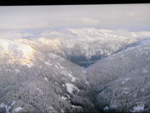 Vancouver Whisler widok na okolicę