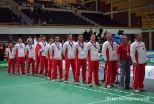 Arena Ursynów ME badminton srebrny medal Polska