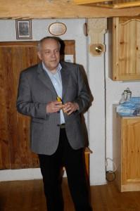 Horst Kullnigg - in 1985 Prezes Austriackiego Związku Badmintona