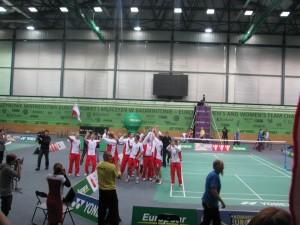 badminton DME mężczyzn Polska Ukraina 3:2