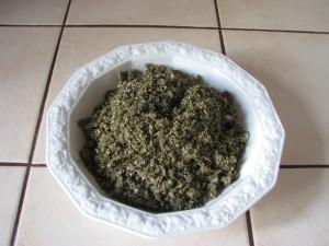 Majeranek z czosnkiem i solą gruboziarnistą do mięs