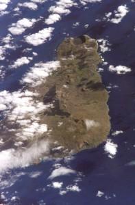 Wyspa Wielkanocna zdjęcie satelitarne
