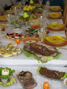 Wielkanocne śniadanie  2010