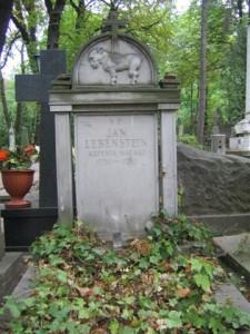 Jan Lebenstein grób na Powązkach w Warszawie