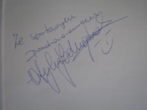 Otylia Jedrzejczak pozdrowienia dla czytelników bloga www.okiemjadwigi.pl