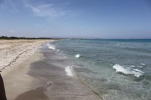 Puste plaże w Riserva Naturale di Vendicari