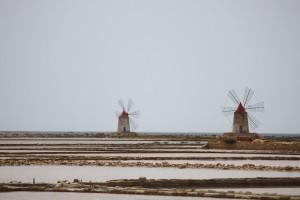 Saliny w okolicach Marsali