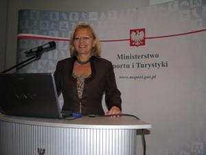 konferencja liderki sportu Urszula Jankowska