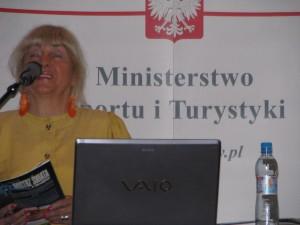 konferencja liderki sportu dr psychologii Jadwiga Kłodecka-Różalska