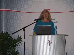 konferencja liderki sportu Ewa Rutkowska