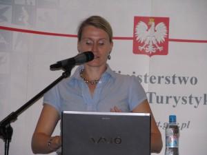 konferencja liderki sportu A.Zagórska