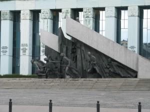 Pomnik Powstania Warszawskiego fot.J.Ślawska Szalewicz