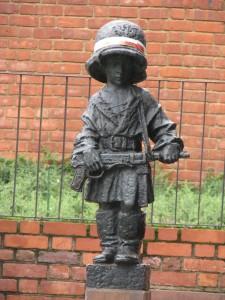 Pomnik Małego Powstańca fot.J.Ślawska Szalewicz