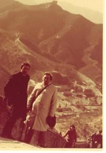od lewej Ryszard Borek trener kadry narodowej w badmintonie i Andrzej Szalewicz Prezes PZBad 1986 r