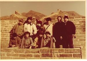 reprezentacja Polski w badmintonie na Chińskim Murze-1986 r