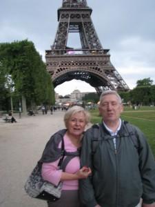 My i wieża Eiffla