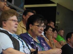 od lewej Gisela Hoffmann, Irene Delvai