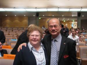 Gisela Hoffmann i BWF Paisan Rangsikitpho