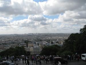 Paryż widziany z Montrmartre