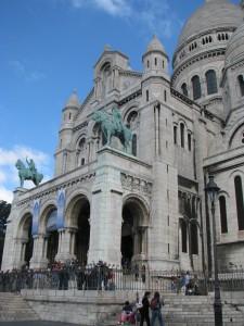 Montrmartre Bazylika Sacre Coeur