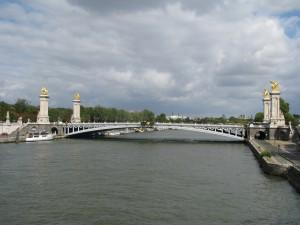 Sekwana i Most Aleksandra III
