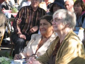od lewej Aldona Kraus i Jadwiga Teresa Szymczak