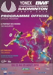 Mistrzostwa świata w badmintonie -program