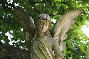anioł Cmentarz Kensal Londyn