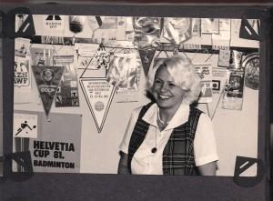 Rok 1978 Jadwiga Ślawska Sekretarz generalny Polskiego Związku Badmintona