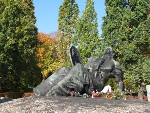Cmentarz Katolicki Warszawa Wola - Pomnik Polegli Niepokonani