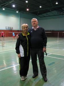 Bożena Wojtkowska Haracz trener , Andrzej Szalewicz b prezes PKOL