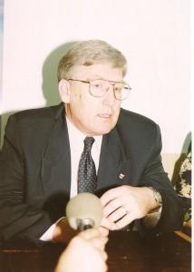 Andrzej Szalewicz, pierwszy Prezes Polskiego Zwiazku Badmintona,  Prezes PKOL w latach 1991-1997