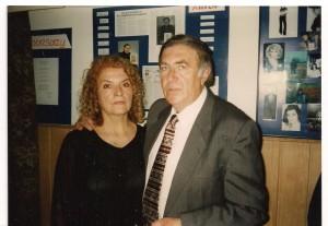Lucyna Arska Adrjańska i Zbigniew Adrjański