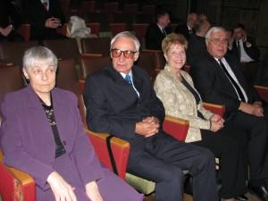 Józefina Ciurys Borek  (przed laty znakomita zawodniczka badmintona) Ryszard Borek i Zdzisława Szałagan
