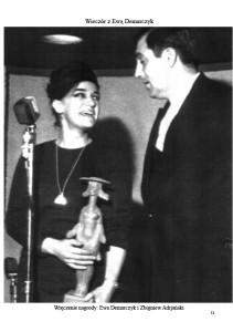 Ewa Demarczyk i Zbigniew Adrjański