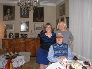Pani Małgorzata Gutowska Adamczyk, Pani Barbara Mildner, Andrzej Szalewicz