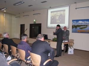 Uroczystości prowadzili Lech Iwanowski i Jerzy Szleszyński