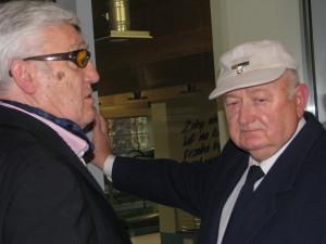25 lat później rok 2013 Jerzy Szuliński i Andrzej Szalewicz uroczystości 25 lecia SKB Suwałki