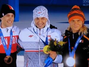 Zbyszek Bródka złoty medal IO Soczi 2014