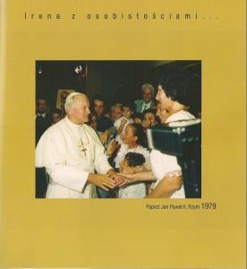 Jan Paweł II i Irena Rzym 1979