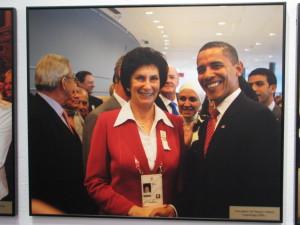 Kongres MKOL w Kopenhadze Irena Szewińska i Barack Obama Prezydent USA