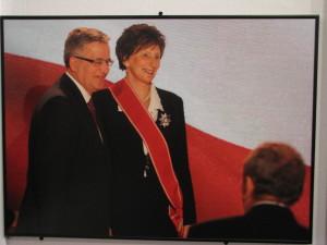 Prezydent RP Bronisław Komorowski odznaczył Irenę Szewińską Orderem