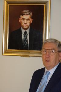 Andrzej Szalewicz Prezes Polskiego Związku Badmintona 1977-1991; PKOL 1991-1997