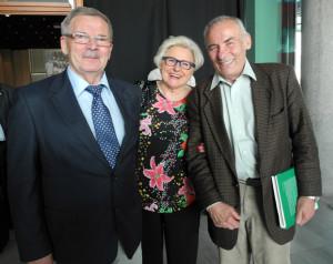 od lewej prof. Stanisław Tokarski wielokrotny mistrz w judo, Jadwiga , Waldemar Sikorski b.trener kadry narodowej w judo wszyscy AZS AWF Warszawa