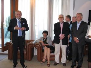 Spotkanie Rodziny Olimpijskiej 6.06.2014, otwarcia dokonał Prezes PKOL Andrzej Kraśnicki