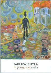 Okładka Folderu Wystawa obrazów Tadeusza Chyły
